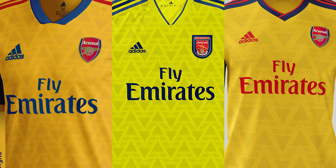 Will It Look Like One Of These  3 Adidas Arsenal 19-20  Bruised ... 3fd1bf577