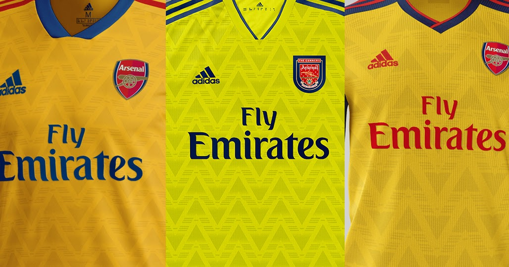 Will It Look Like One Of These? 3 Adidas Arsenal 19-20