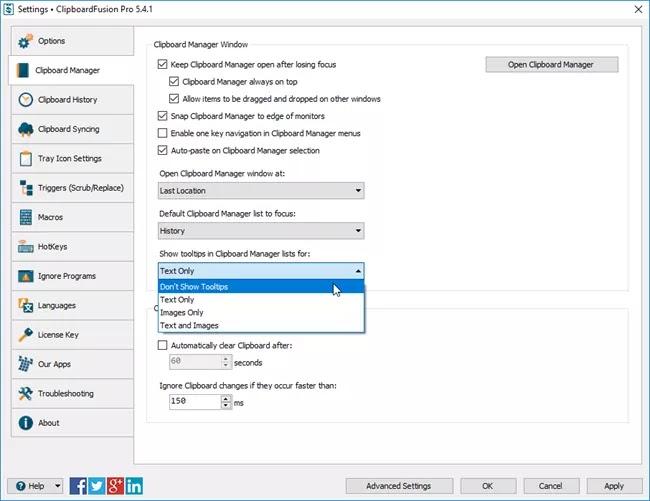 تحميل برنامج ClipboardFusion Pro 5.8.2 لمراقبة الحافظة ومعالجتها