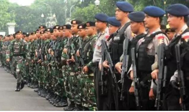 Ada apa? Besok ratusan Aparta TNI-POLRI akan berjaga ketat di glodok