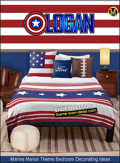 captain america bedroom americana bedroom decor patriotic stars and stripes