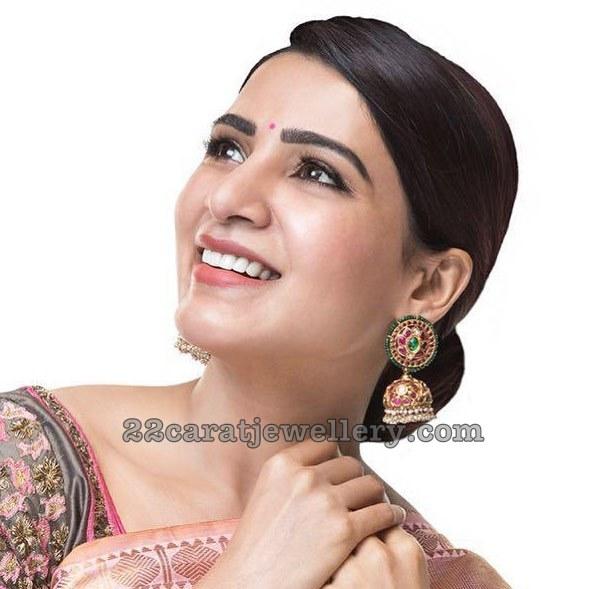 Samantha Akkineni in Harini Fine Jewellery
