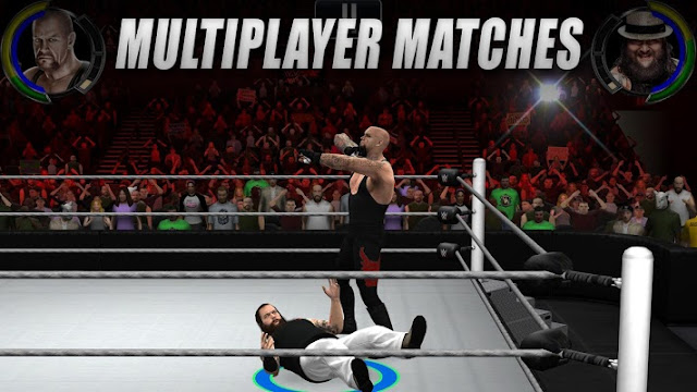 WWE 2K Mod Apk Android