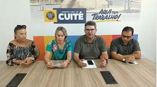 Prefeitura de Cuité emite nota e tranquiliza população sobre suspeita de coronavírus no município