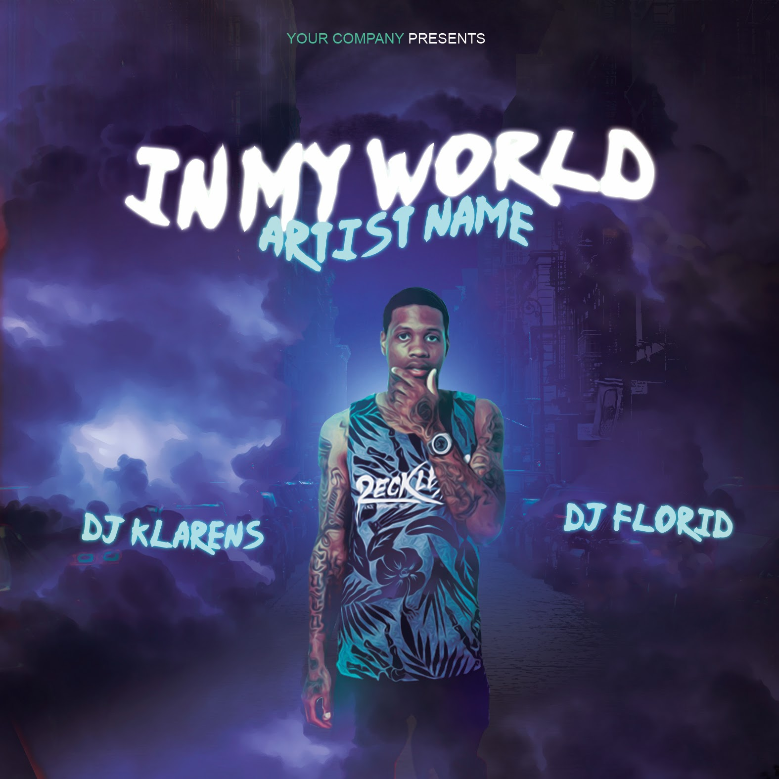 Free Templates Hip Hop Mixtape Album Cd Cover Free Psd Template