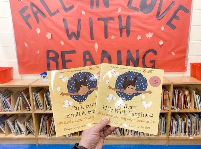 My Heart Fills With Happiness - J'ai le coeur rempli de bonheur - TD Grade One Book Giveaway