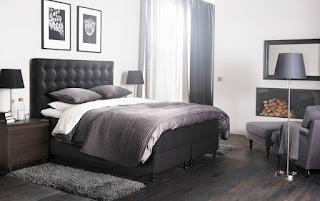 Elegantna spalnica - pohištvo.