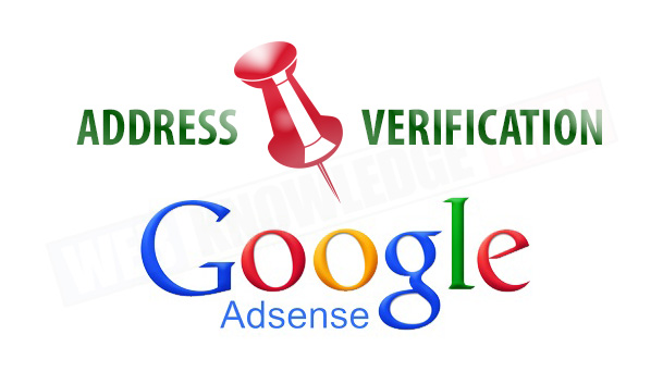 Verify Your Adsense Address in 2hours Without Verification Pin