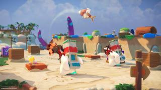 Mario + Rabbids DK PS4 Wallpaper