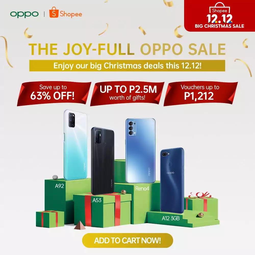 OPPO x Shopee 12.12
