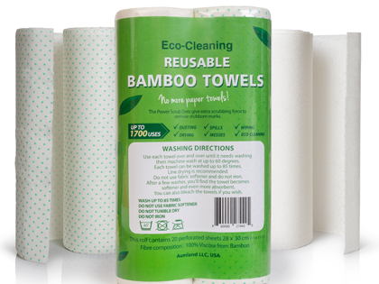 The Greenish Life: Reusable Kitchen Towels
