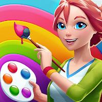 Jogo de simulação de pintura para Android Com moedas infinitas