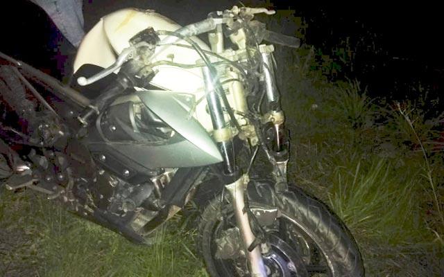 Motociclista morre em acidente com carro de vice-presidente e diretores do Jacobina
