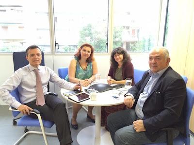 Καμία εγκατάσταση προσφύγων στην παραλιακή τουριστική ζώνη του Δήμου Κατερίνης - Το θέμα έληξε έπειτα από συνάντηση που είχε ο Δήμαρχος Κατερίνης Σάββας Χιονίδης με στελέχη της Ύπατης Αρμοστείας του ΟΗΕ