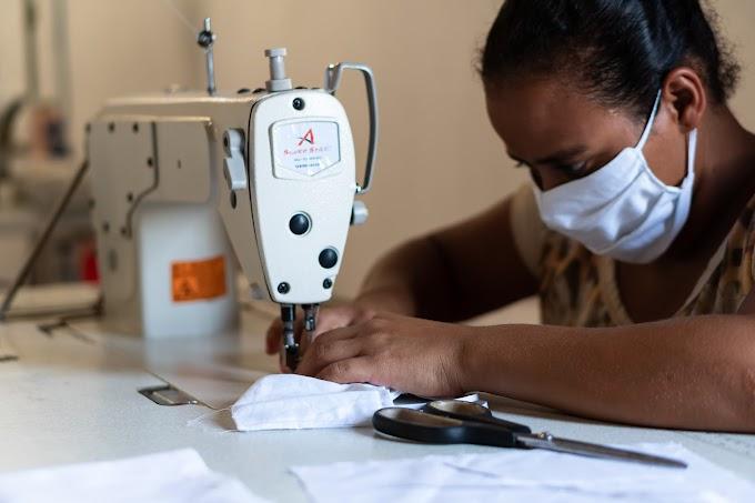 JMC em parceria com associações de Jacobina atinge a produção e entrega de 14 mil máscaras