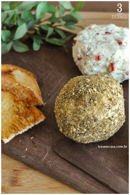 receita de patê de queijo minas