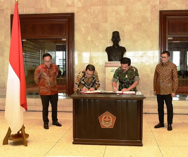 Panglima TNI Teken MoU dengan Tiga Bank BUMN