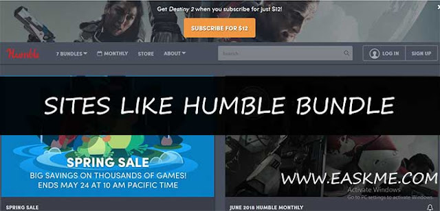 Sites Like Humble bundle: eAskme