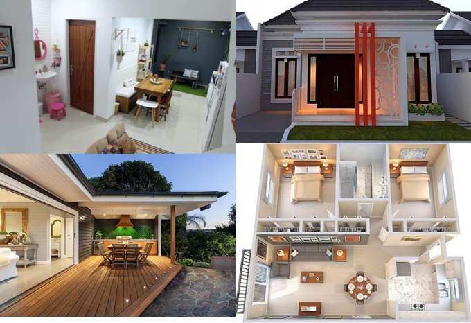Motif dan model rumah minimalis tampak depan