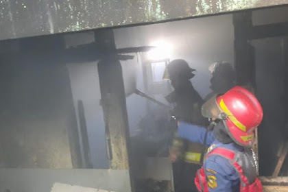 Api melalap rumah makan di bogor