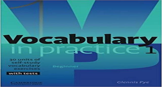 Vocabulary in Practice 1 Beginner  Ebook Free Download