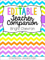 Editable Teacher Binder- Classroom organization for the back to school seasons. Binder includes assessment forms, lesson plans, R.T.I. sheets, schedules, and more! 4 different designs to match your classroom. All editable teacher binders.