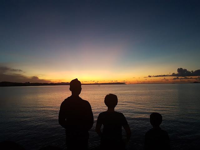 Senja yang sempurna