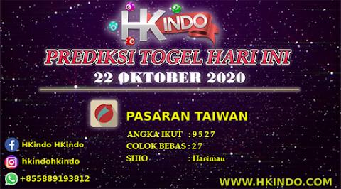 PREDIKSI TOGEL TAIWAN HARI INI 22 OKTOBER 2020