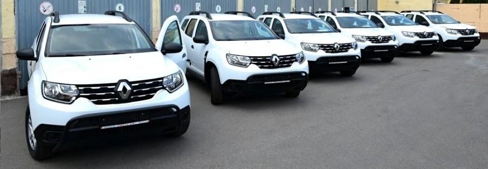 Львівський прикордонний загін отримав кросовери Renault