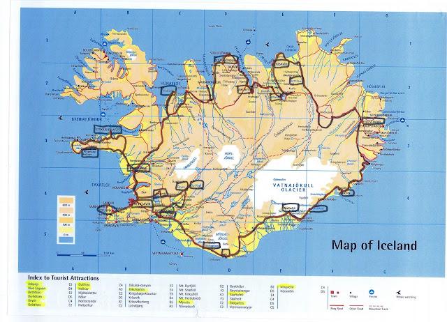 Islanda itinerario
