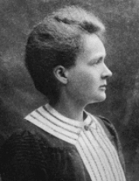 Happy November remembrance of Marie Curie