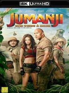 Jumanji – Bem-Vindo à Selva 2018 Com Extras – Torrent Download – BluRay 4K 2160p Dublado / Dual Áudio