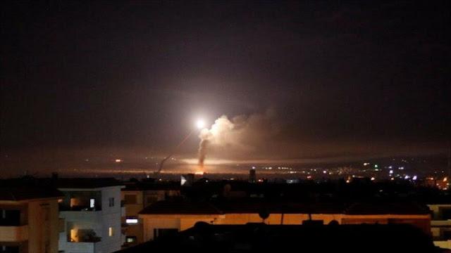 "Defensa antiaérea de Siria intercepta un dron ""enemigo"" en Damasco"