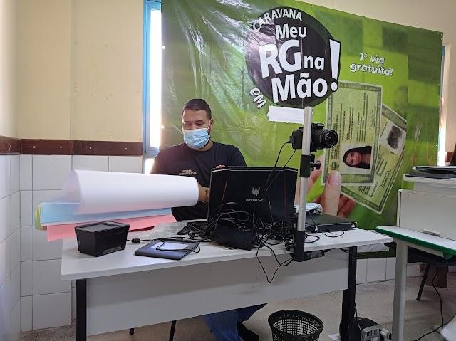 A Caravana RG na mão já é um sucesso no município de Mata Grande