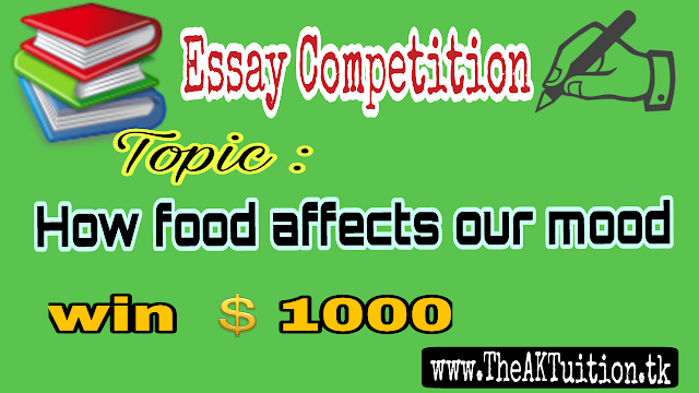 Win $1000 by writing an Essay