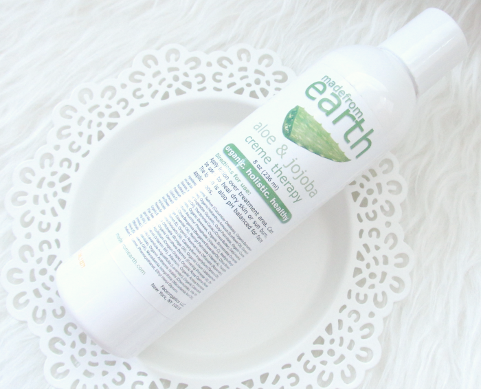 Review: made from earth - Aloe & Jojoba Cream Therapy Bodylotion - 8oz. - $24.99