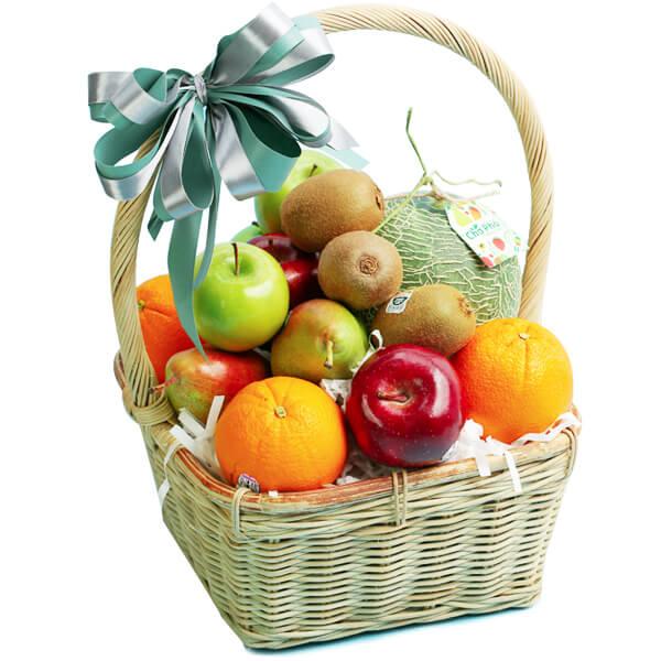 Giỏ hoa quả Hạnh phúc H03