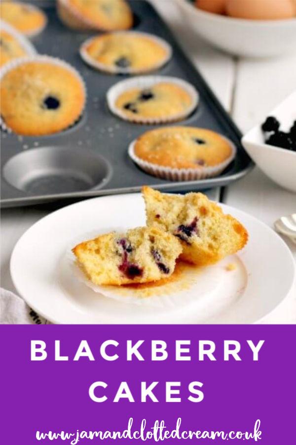 Blackberry Cakes #blackberries #blackberrycake #baking #easyrecipe