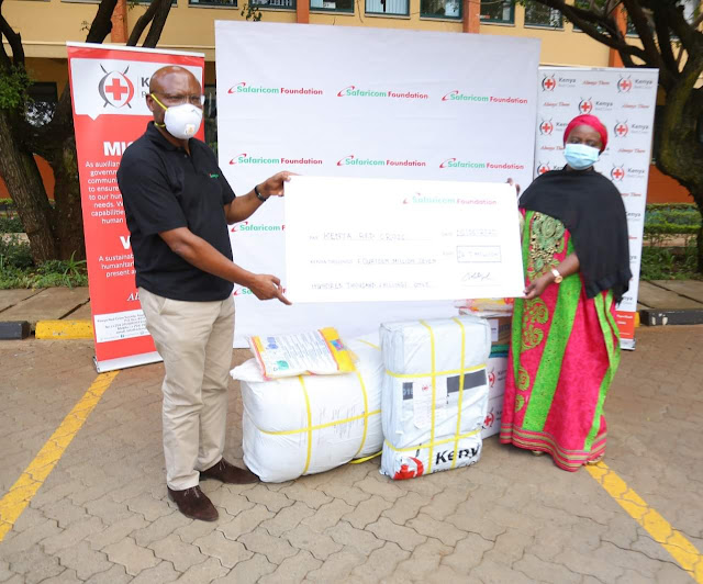 Safaricom, Red Cross