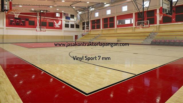 Karpet Vinyl Lapangan Basket