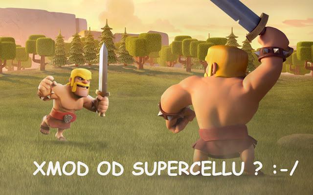 pod honosným názvem FRIENDLY CHALLENGE nás čeká soft XMOD od SUPERCELLu !