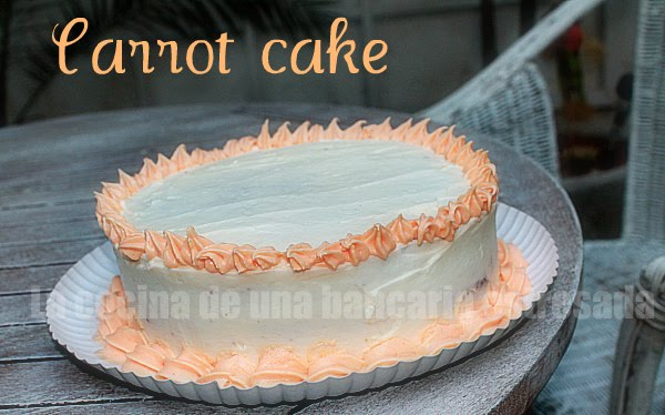 CARROT CAKE CON CHEESE CREAM