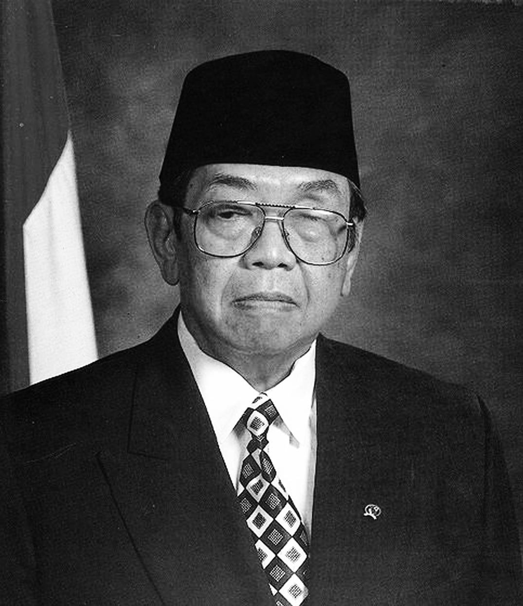 Presiden Abdurrahman Wahid (Gusdur) hitam putih