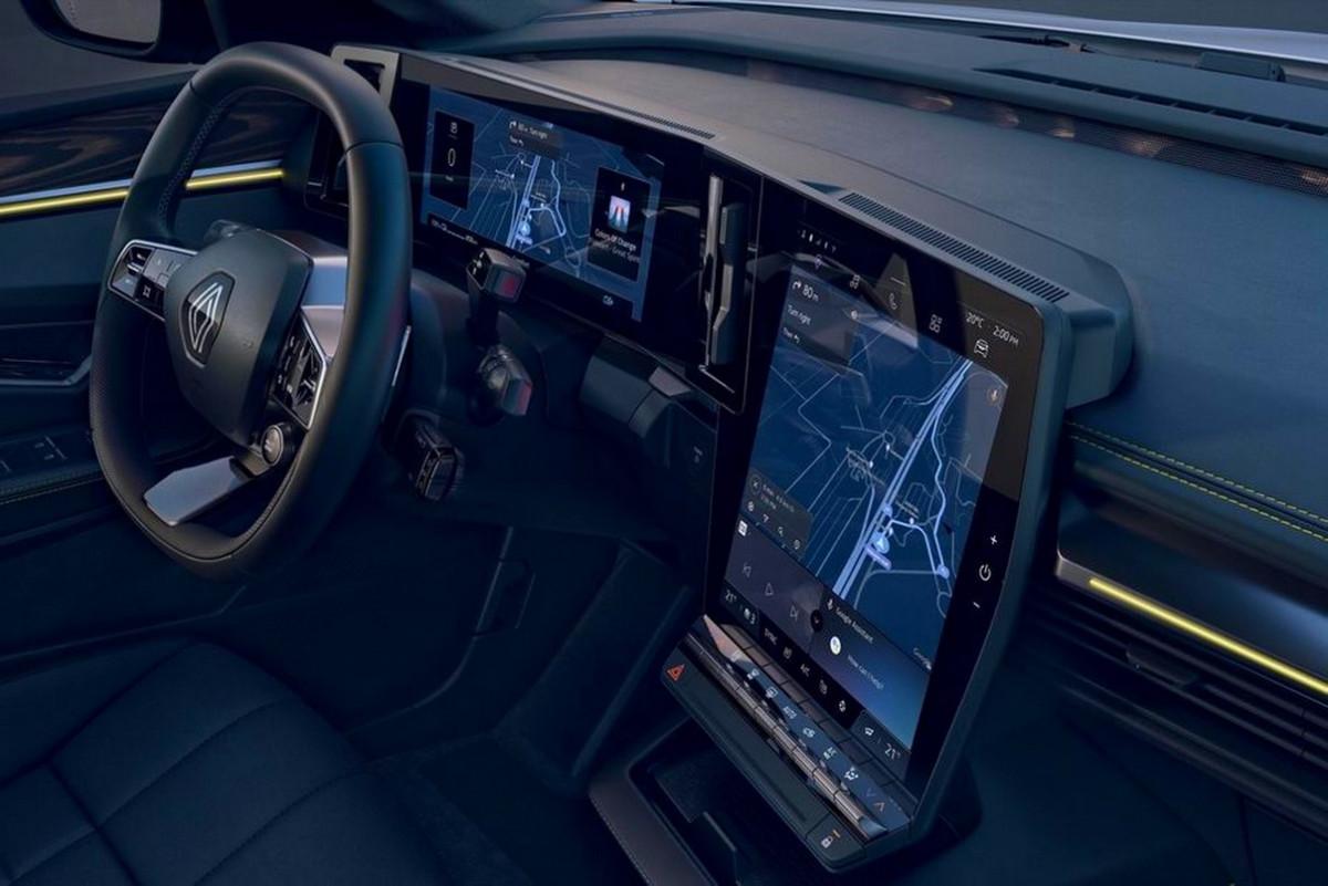 رونو ميجان إي تيك الكهربائية - Megane E-TECH Electric - مقصورة القيادة