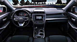 2017 Toyota Camry Redesign Interior