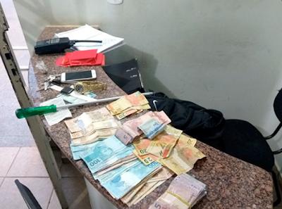 PM de Olímpia prende ladrões que tentavam assaltar casa de comerciante