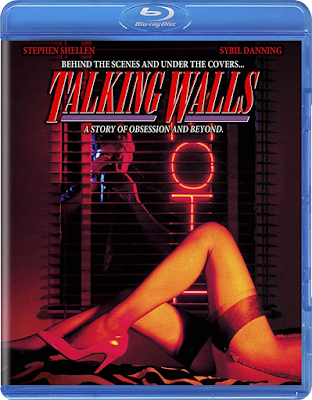 Blu-ray cover for Scorpion Releasing's TALKING WALLS.