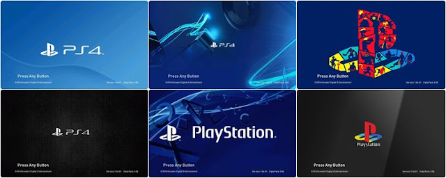Playstation Start Screen PES 2017