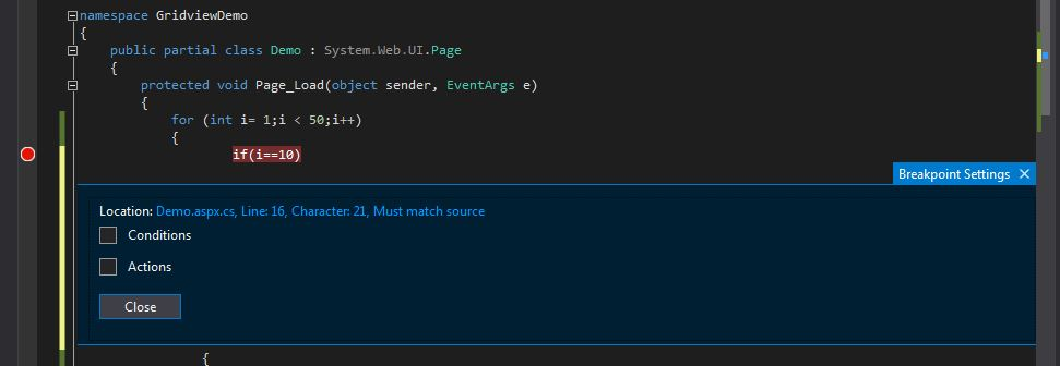Conditional-Breakpoint-Window