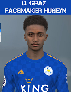 PES 2017 Faces Demarai Gray by Huseyn